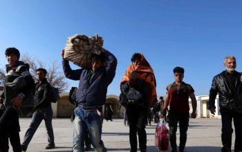 اخراج مهاجرین افغانستان از ایران به دلیل فشارهای اقتصادی ناشی از تحریم