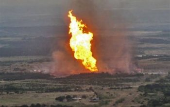 حمله طیارههای بیسرنشین یمن به خطوط انتقال نفت عربستان