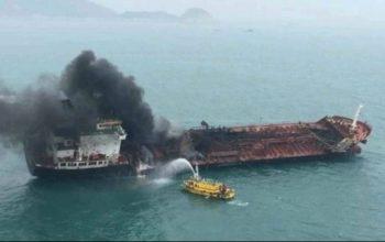 انفجار کشتی ها در امارات، تلفاتی به دنبال نداشته است