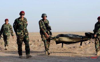 شش سرباز اردوی ملی در حمله هوایی نیروهای خارجی در کندز کشته شد