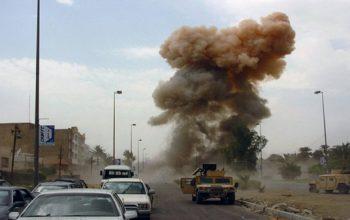 حمله موشکی بر پایگاه مشاوران نظامی امریکا در عراق