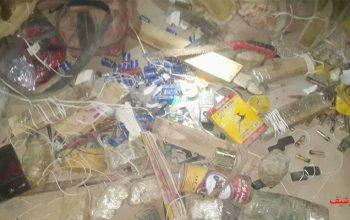 یک ذخیره گاه مواد انفجاری در هرات کشف شد