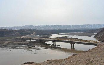 پلِ صد متره «چنگال» در تخار ویران شد