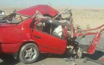 هفت کشته و زخمی در حادثه ترافیکی هرات