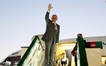 رئیس جمهور عازم قرغیزستان شد