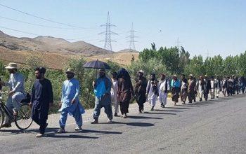 چهار عضو کاروان صلح خواهی با طالبان رفتند