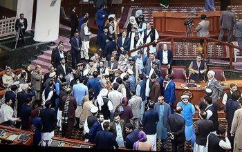 درگیری و زد و خورد نماینده گان در مجلس