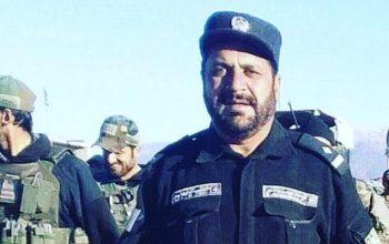 فرمانده پولیس ولسوالی برمل پکتیکا کشته شد