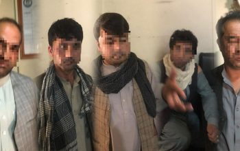 گروهی از سارقین مسلح در کابل بازداشت شد