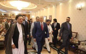 دیدار خلیلزاد با رهبران سیاسی شمال