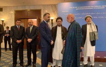 حضور رهبران سیاسی افغانستان در اسلام آباد