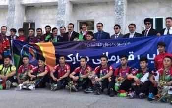 نائب قهرمان آسیا به کشور برگشت