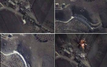 روسیه اهداف تروریستان در سوریه را بمباران کرد