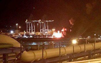 انفجار کشتی ايتاليا در ترکیه