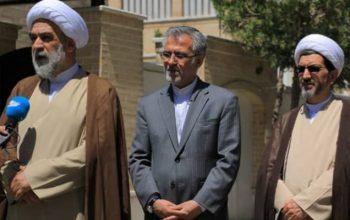 دیدار فرستاده ویژه رهبر انقلاب ایران با آیت الله محسنی