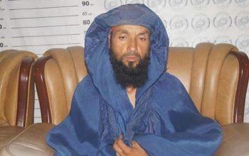 معاون نظامی «چادری پوش» طالبان در تخار بازداشت شد