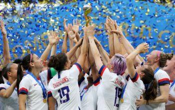 جام جهانی فوتبال زنان در چنگ امریکا