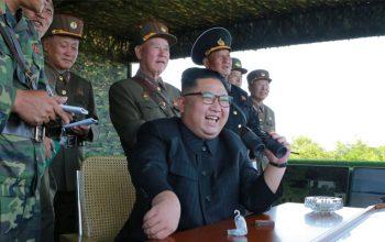 آزمایش موشکی تازه کوریای شمالی با حضور «اون»