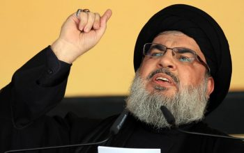 هشدار نصرالله نسبت به جنگ امریکا با ایران