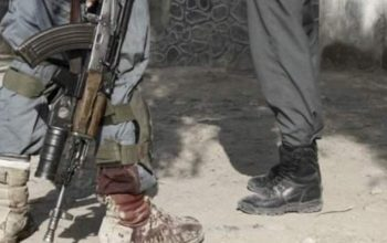 دو پولیس در انفجار کابل کشته شد