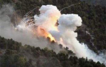 راکت پراکنی دوباره پاکستان بر کنر