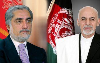 رقابت نزدیک عبدالله و غنی