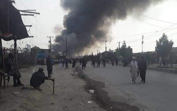 مظاهره مردم «قابل بای»، سرک کابل ـ جلال آباد مسدود شد