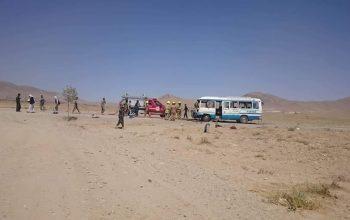انفجار بر موتر دانشجویان دانشگاه غزنی، شش کشته و زخمی برجا گذاشت