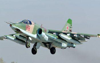 جنگنده «سوخو- ۲۵» روسیه سقوط کرد