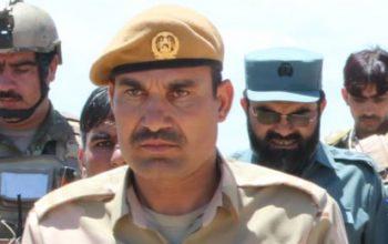 فرمانده پولیس ولسوالی احمدآباد پکتیا کشته شد