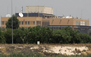 حمله راکتی بر نزدیکی سفارت امریکا در بغداد