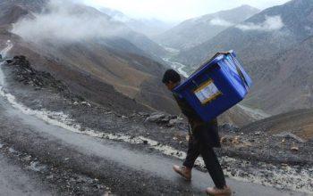 انتقال تمام مواد حساس انتخاباتی به کابل