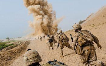 انفجار ماین بر کاروان نیروهای خارجی در قندهار