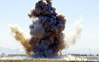 کاروان نیروهای خارجی در لوگر هدف انفجار قرار گرفت