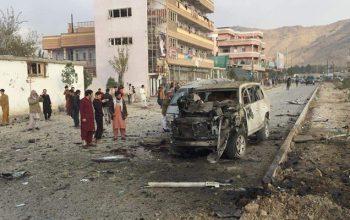 هفت کشته و 10 زخمی در انفجار موتربم در کابل