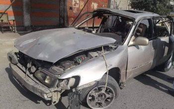 سه غیرنظامی در انفجار جلال آباد زخمی شد