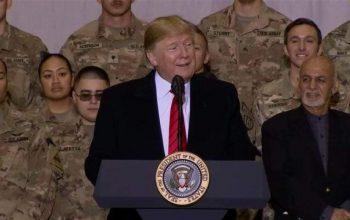 دیدار رئیس جمهور غنی و ترامپ در بگرام؛ اهانت به همه ملت افغانستان بود؟!