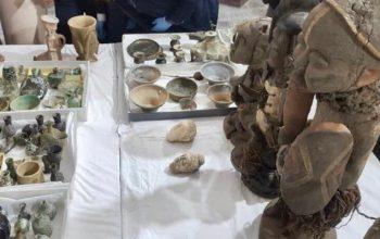 از قاچاق صدها آثار باستانی افغانستان جلوگیری شد