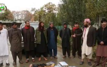 شبکه هفت نفری آدم ربایان از ولسوالی قره باغ کابل بازداشت شد