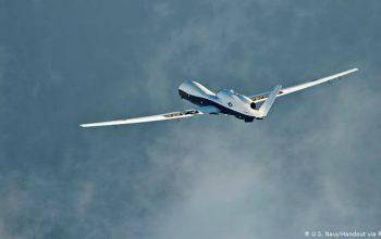یک طیاره بی سرنشین در ایران سرنگون شد