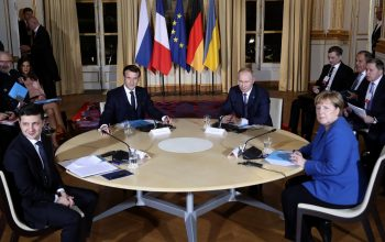 آتش بس روسیه و اوکراین در حضور فرانسه و آلمان