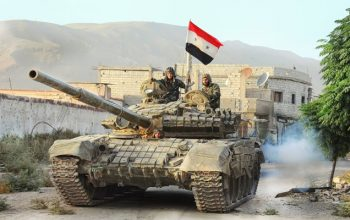 حمله ارتش سوریه به مواضع مخالفین در حلب و ادلب