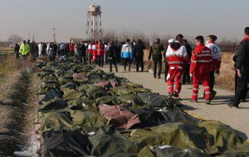 12شهروند افغانستان در سقوط هواپیمای اوکراینی در تهران جان باخت