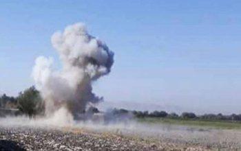 یک پدر و دختر در انفجار ماین در نیمروز کشته شدند