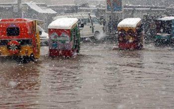 هشدار نسبت به بارندگی و برفباری سنگین