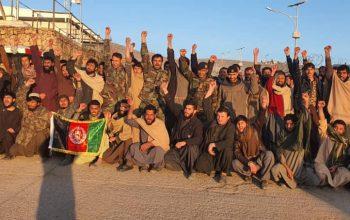 62 تن از نیروهای امنیتی از زندان طالبان در بادغیس آزاد شدند
