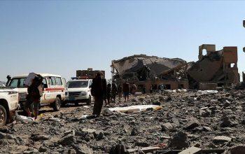بیش از 100 کشته در حمله موشکی به پایگاه نظامی ائتلاف سعودی در یمن