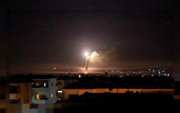 دفع حمله هوایی رژیم صهیونیستی از سوی ارتش سوریه