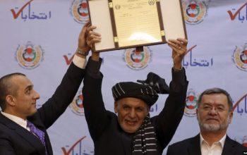 رئیس جمهور غنی، برای مراسم تحلیف آماده می شود