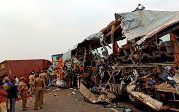 حادثه ترافیکی مرگبار در هند